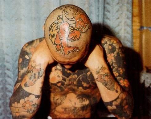 Japanese demon. Artist unknown, please tell us.