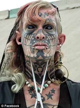 Tattooed Transsexual