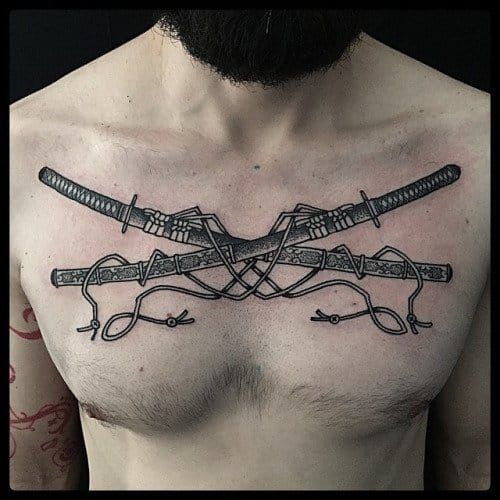 15 Impeccable Sword Tattoos