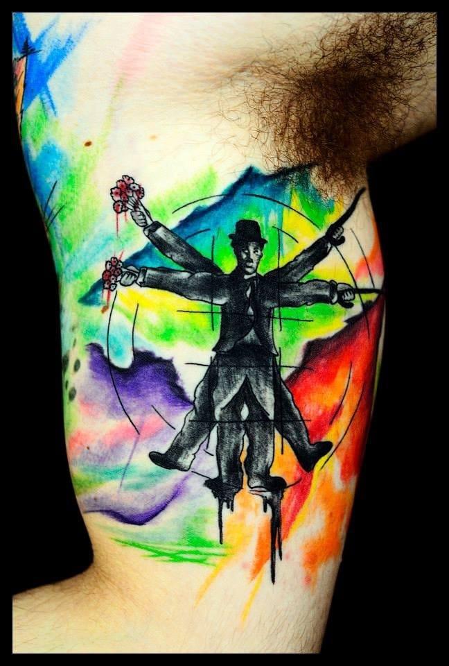 20 Tatuagens De Vários Estilos De Edson Melo Turco Tattooist