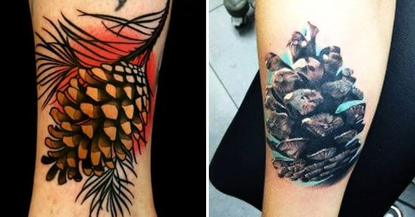 Embrace nature with these pine cone tattoos tattoodo for Pine cone tattoo
