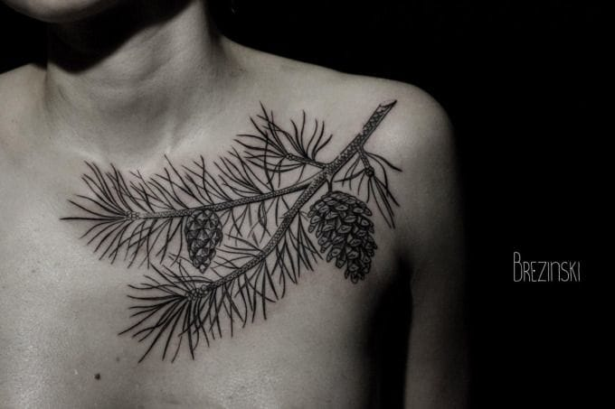 Embrace Nature With These Pine Cone Tattoos!