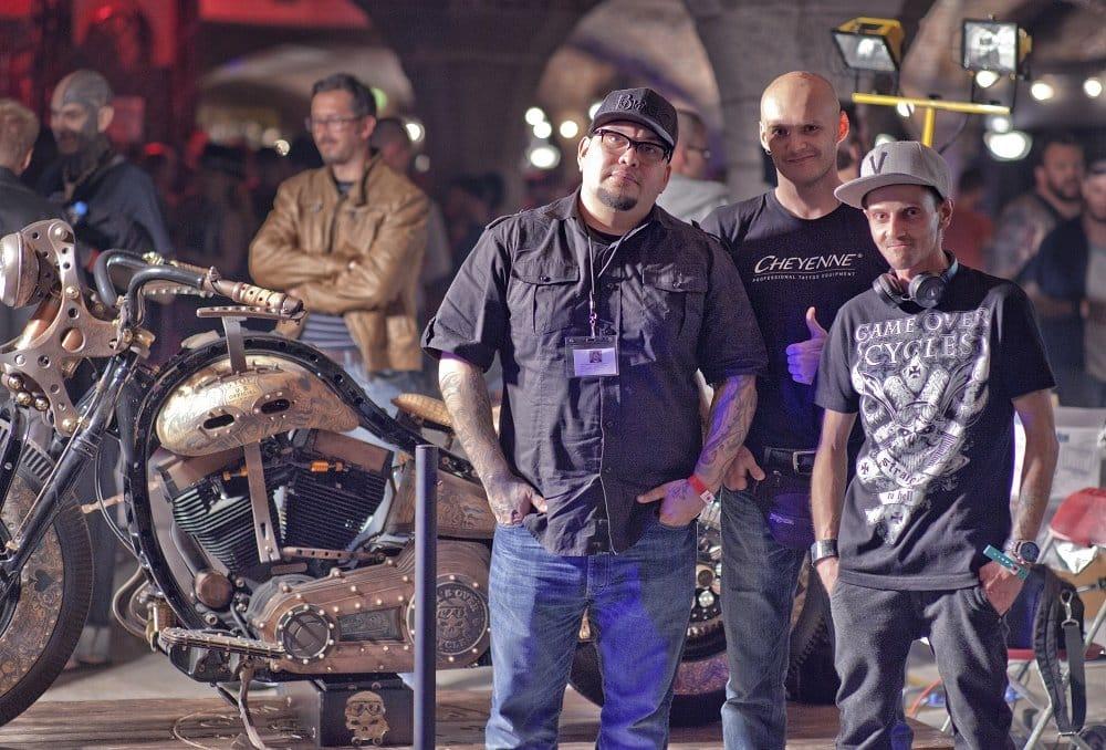 Tattoo master Nikko Hurtado has shown some love to the bike and its creators.