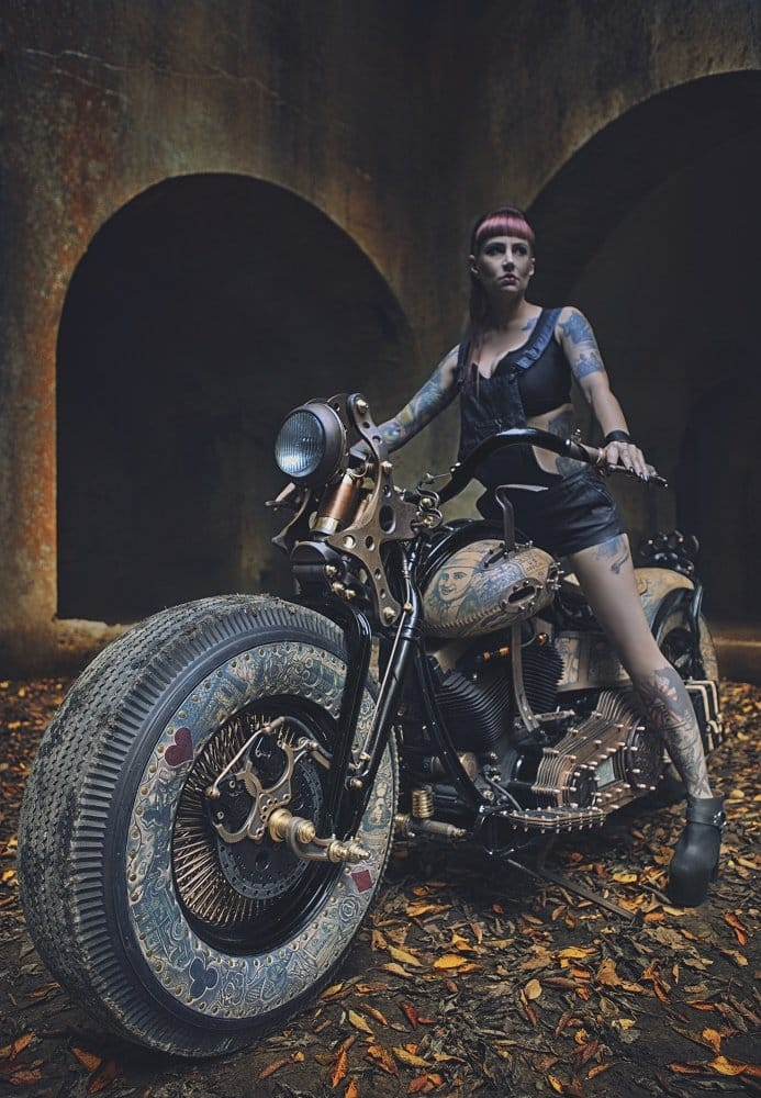 Pretty awesome for a Tattooed Motorcycle