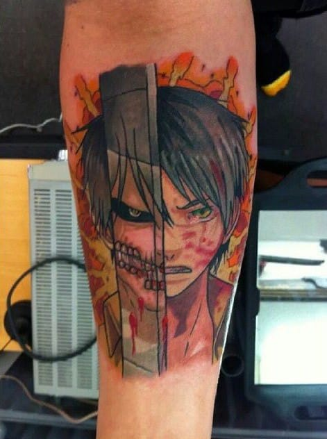 15 attack on titan tattoos even mikasa will be envious of