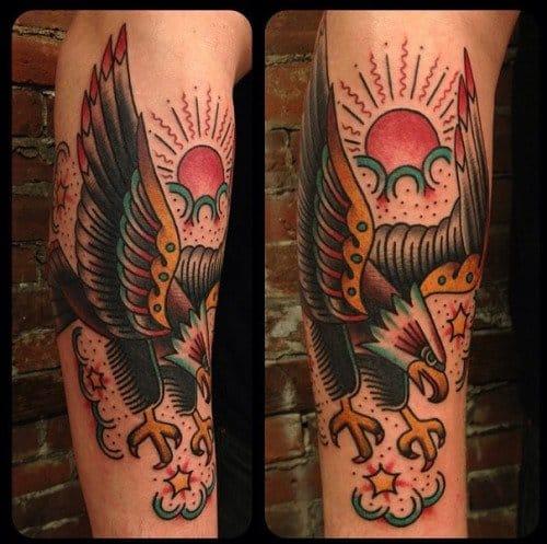 Awesome Eagle Tattoo