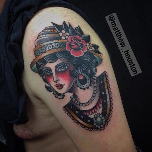 Old School Traditional By Matthew Houston!