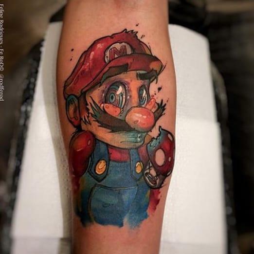 Inspired Tattoo by Felipe Rodrigues