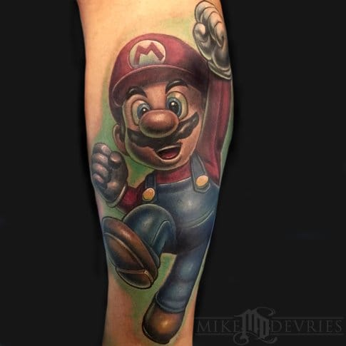 Brilliant Tattoo by Mike DeVries
