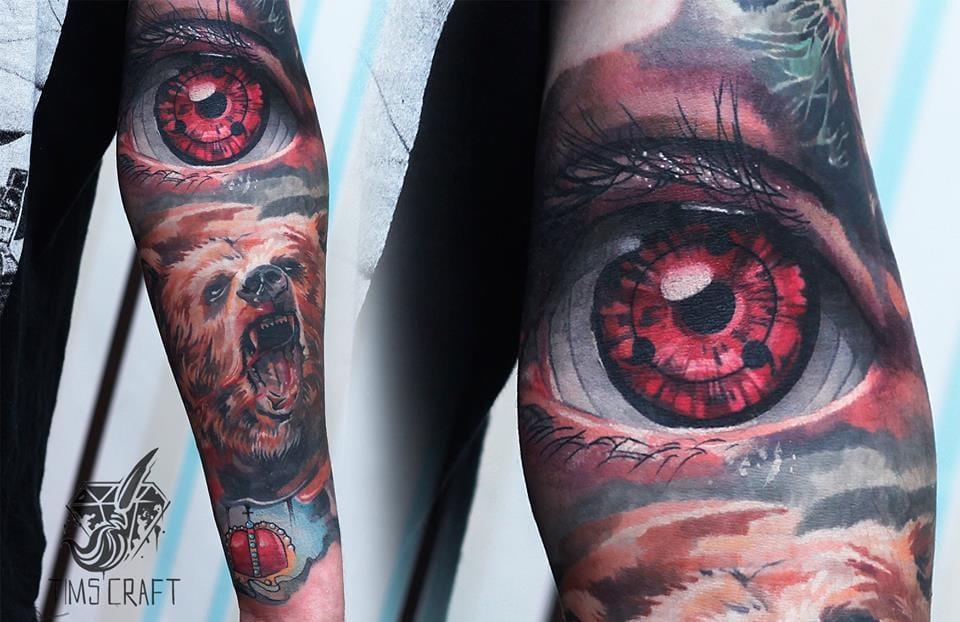 As Mesclas De Estilos De Tymur Denysenko Em 20 Tatuagens Incríveis