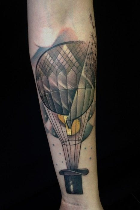Conceptual and beautiful tattoo by Marie Kraus.