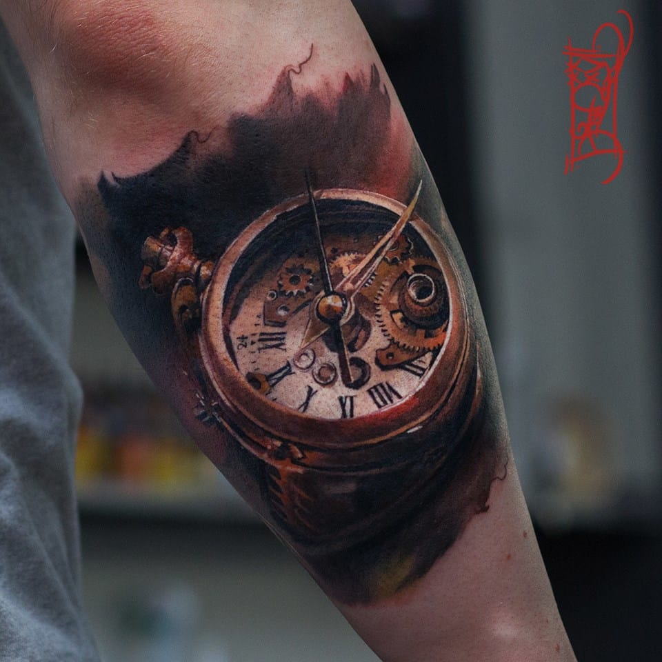 Que relógio impecável!