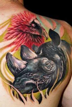 Intense Tattoo by Alex De Pase