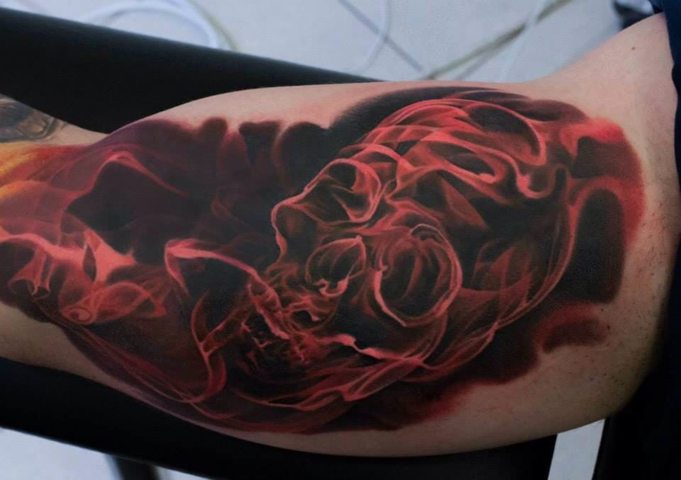 7 Amazing Smoke Tattoos