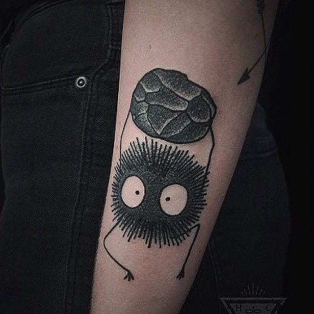 Cute susuwatari by Heath Crowe...
