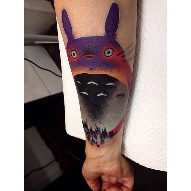 Creative tattoo by Giena Todryk.
