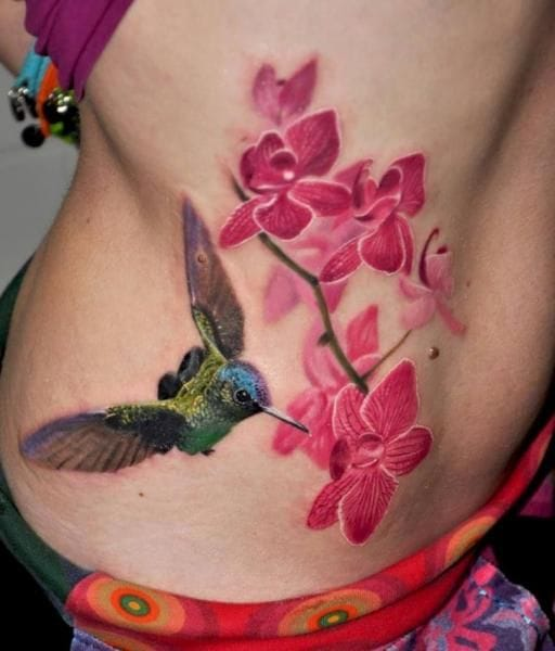 18 Fabulous Orchid Tattoos