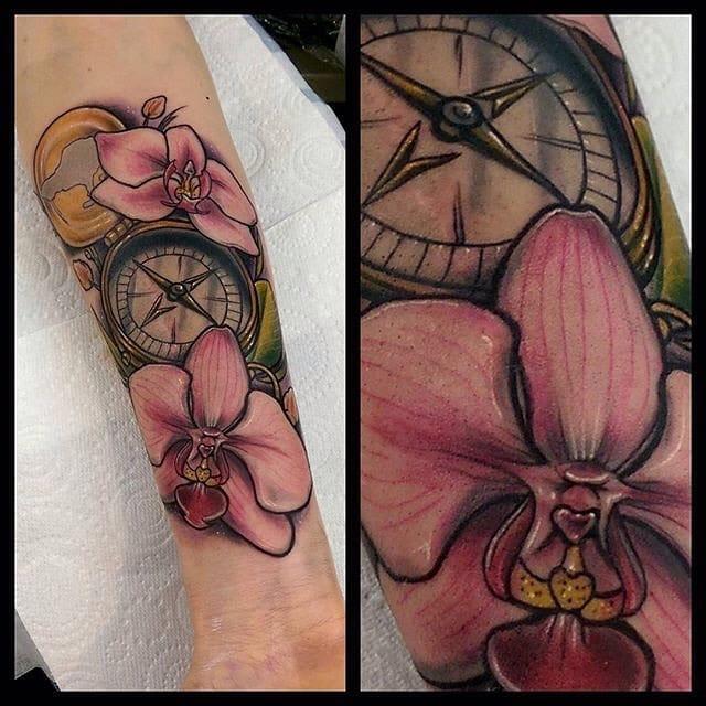 Nice compass by Jethro Wood.