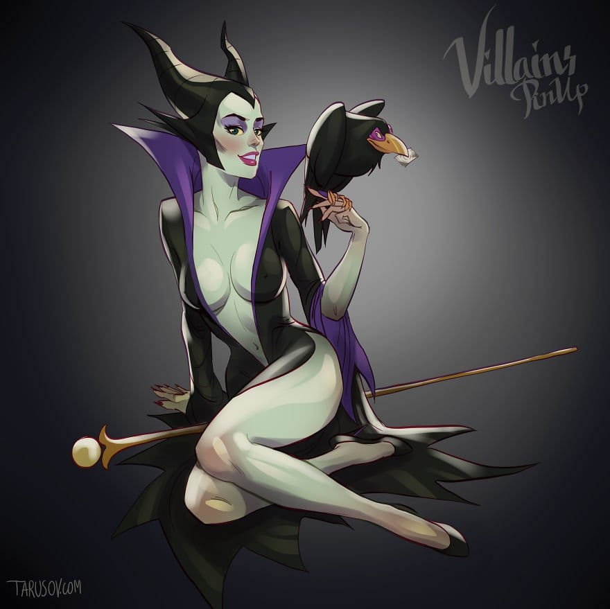 Sleeping Beauty's Maleficent