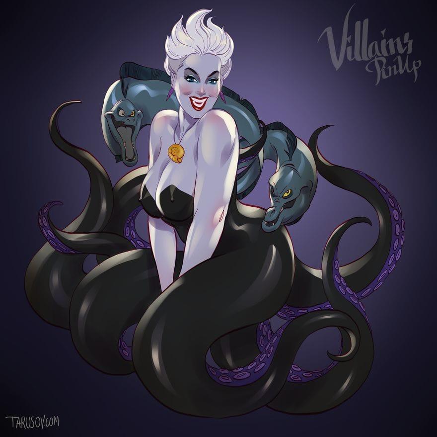 The Little Mermaid's Ursula