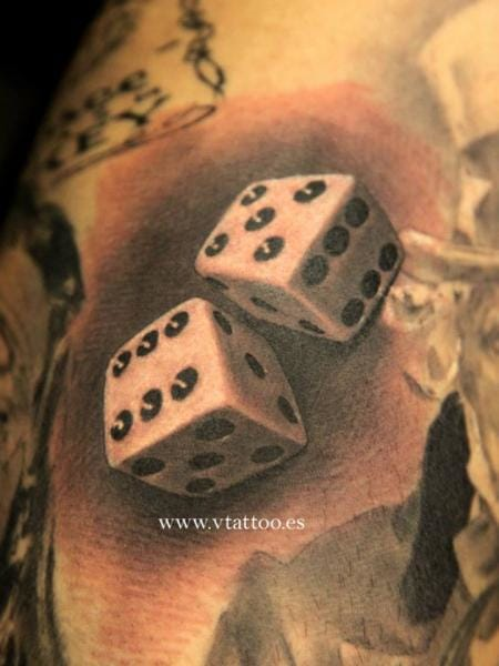 Stunning 3D dice by Miguel Bohigues.