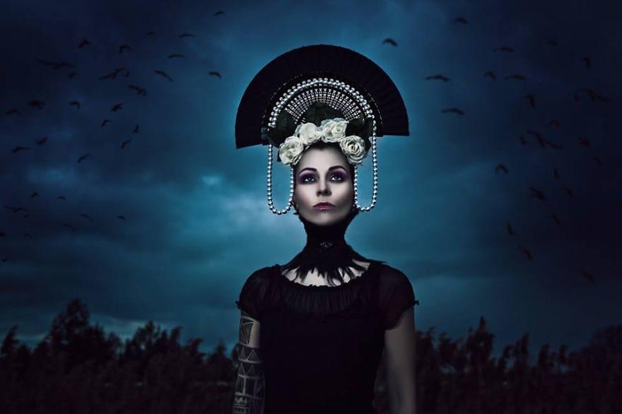 Inked goddess