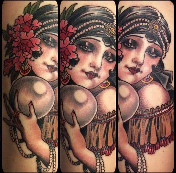 18 Foreseeing Fortune Teller Tattoos