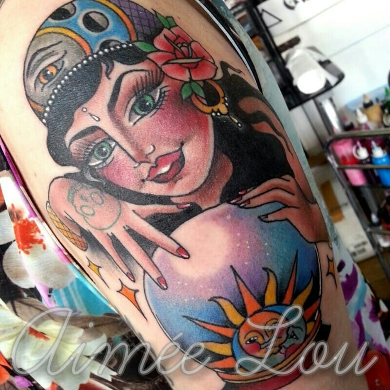 Awesome Tattoo by Aimee Lou