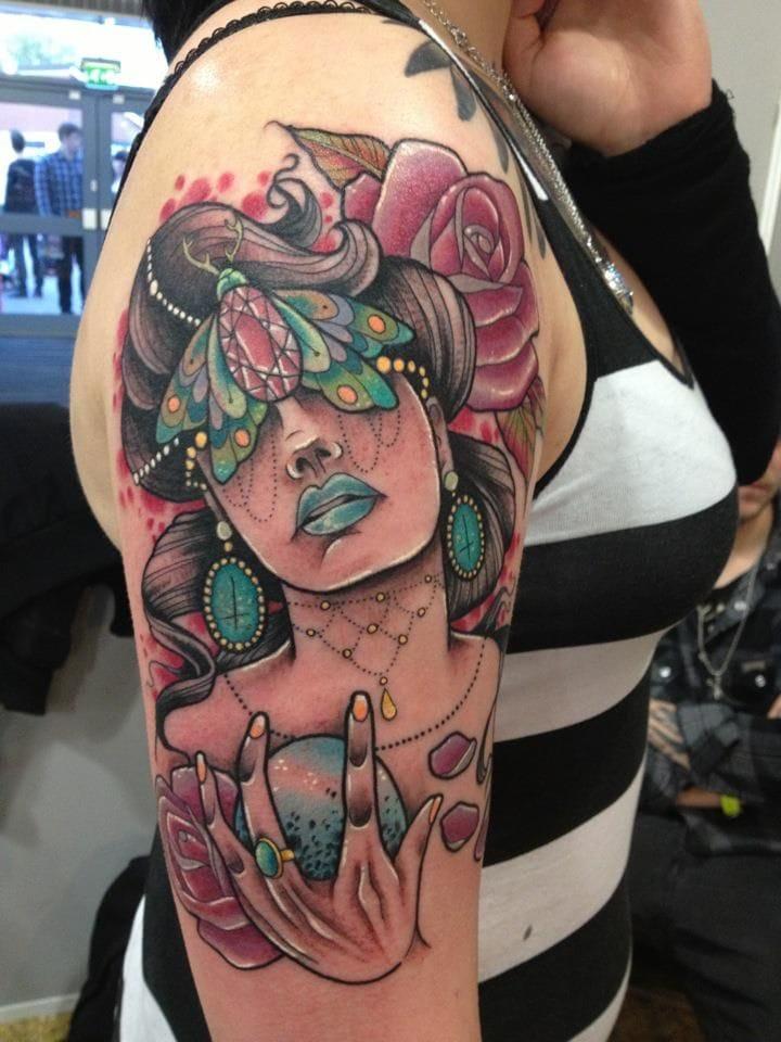Amazing Tattoo by Miss Jo Black
