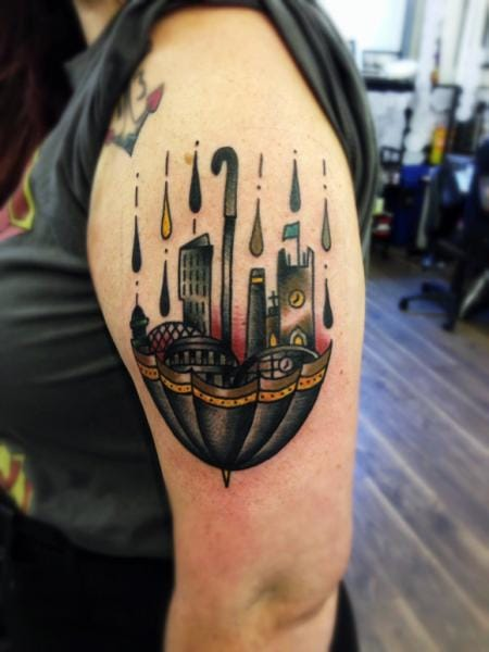 Awesome Tattoo by Matt Cooley