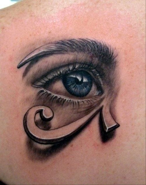 The Horus eye is not an Evil eye but a protection symbol of the Ancient Egypt.
