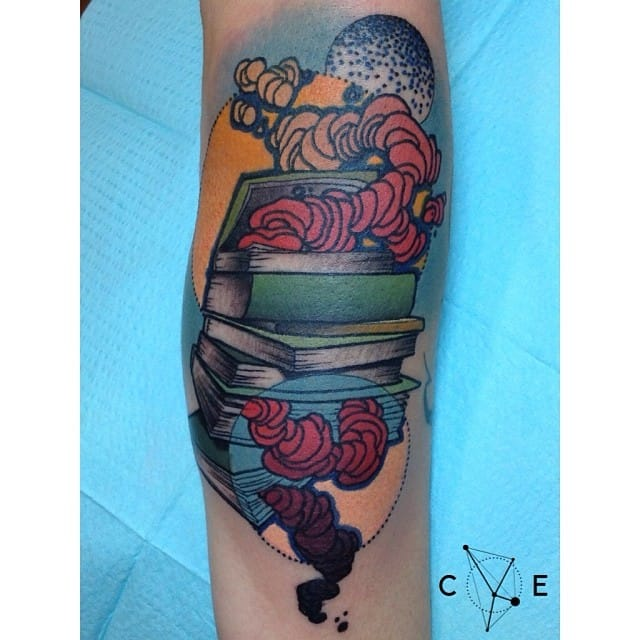 Books are the symbol of knowledge. By Cody Eich.