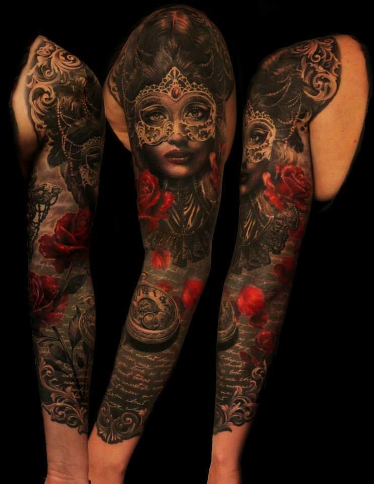Fancy Tattoos By Ellen Westholm