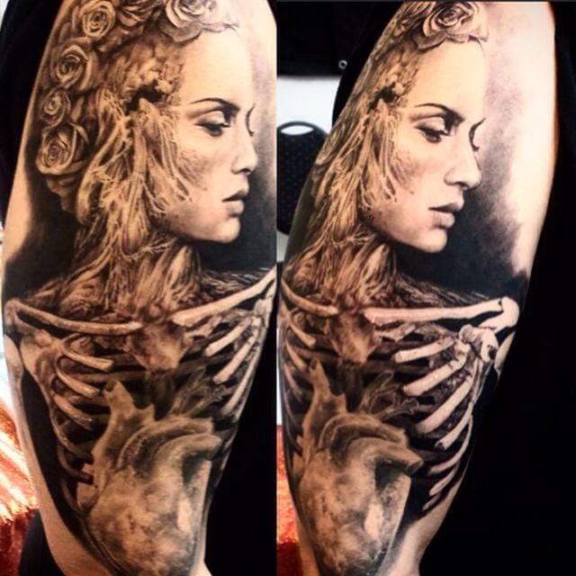Jaw-dropping macabre piece by Ellen Westholm