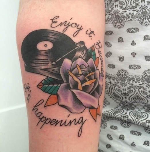 Tattoo by Mike Farquahar