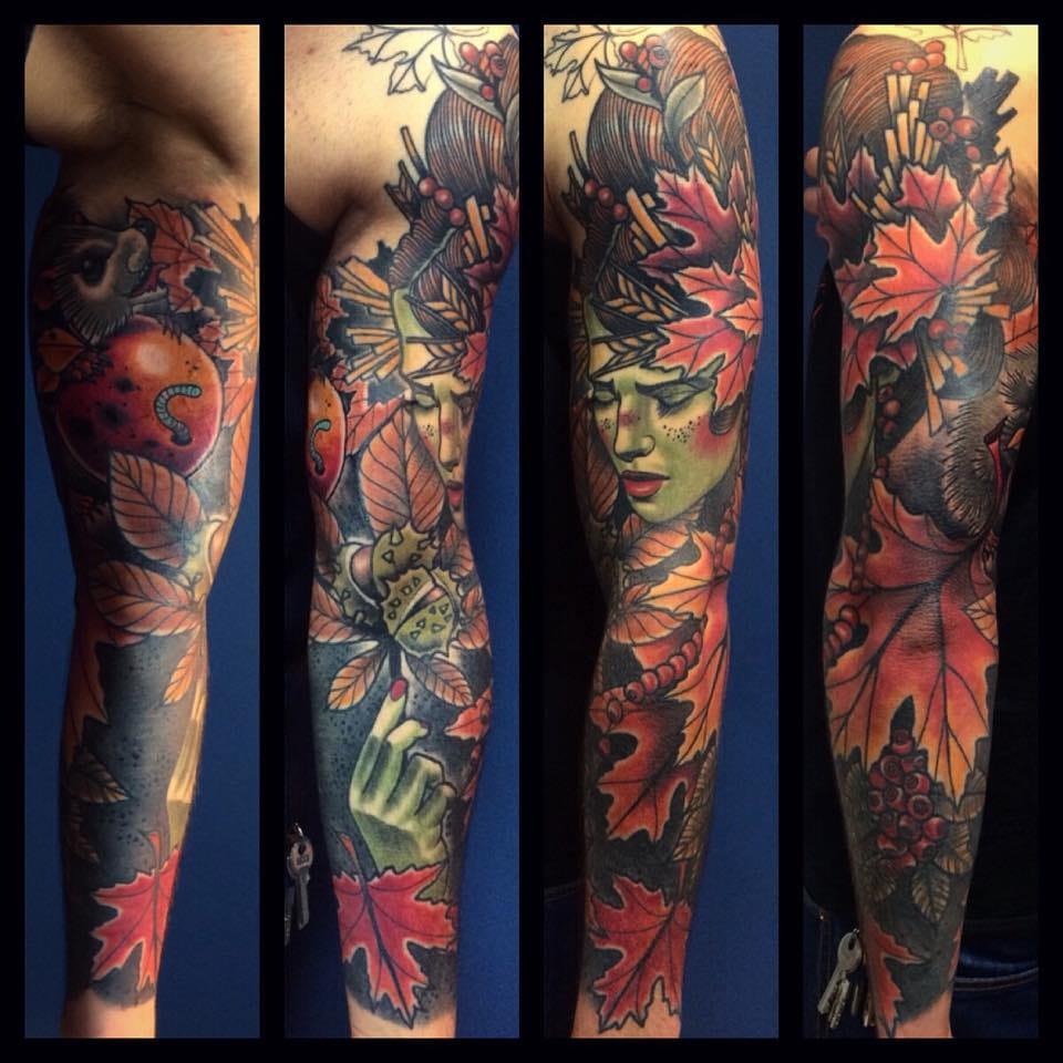 Amazing sleeve by Bartosz Panas!