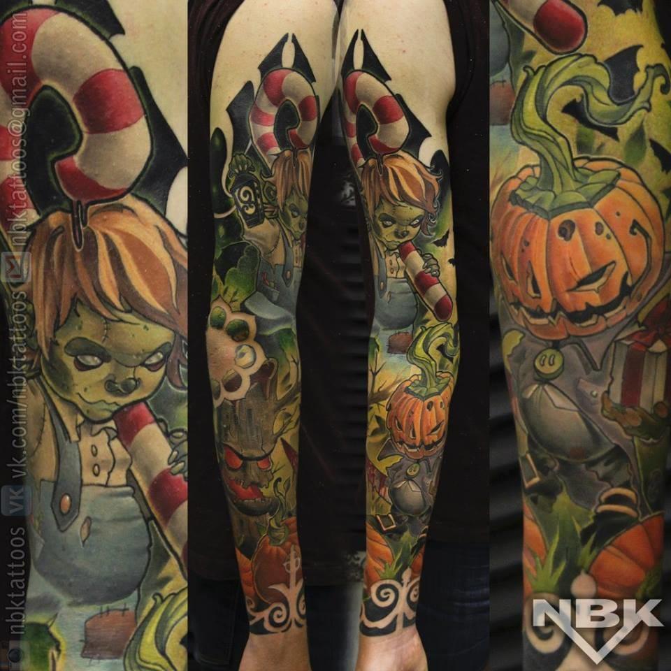 Indeed, Halloween is one of the pleasures of Autumn. By Dmitriy Naboka.