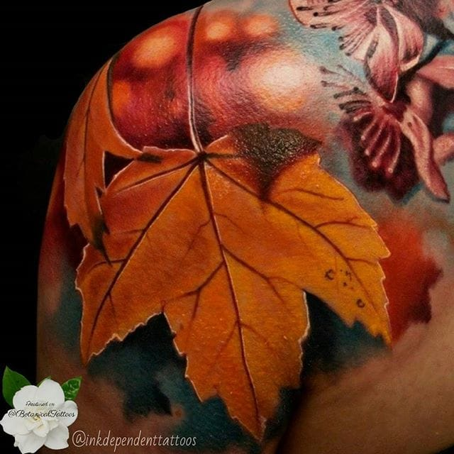 Detail made at InkDependent Tattoos.