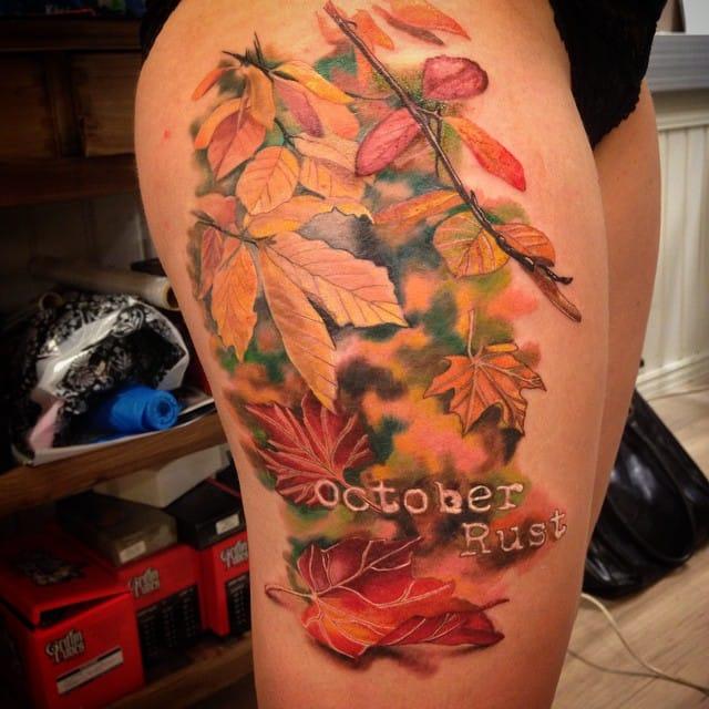 October rust by Titta Freebird.