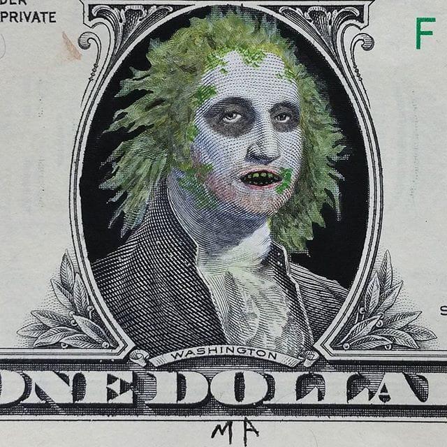 Macario Angulo Beetlejuice Dollar