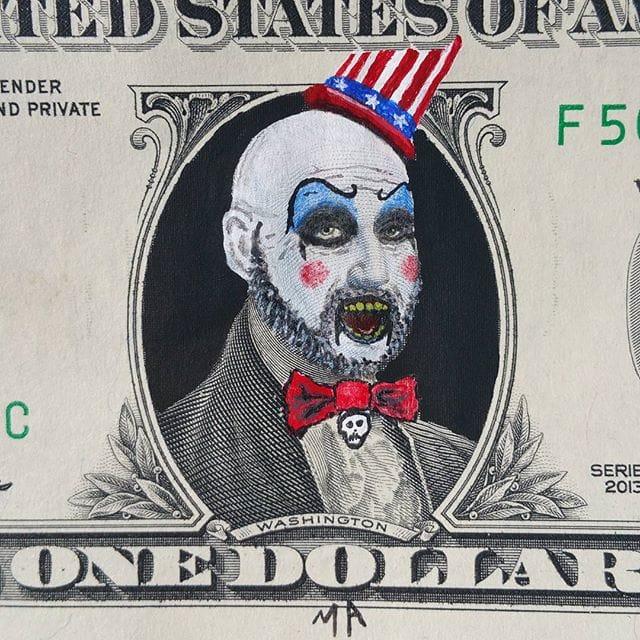 Macario Angulo Captain Spaulding Dollar