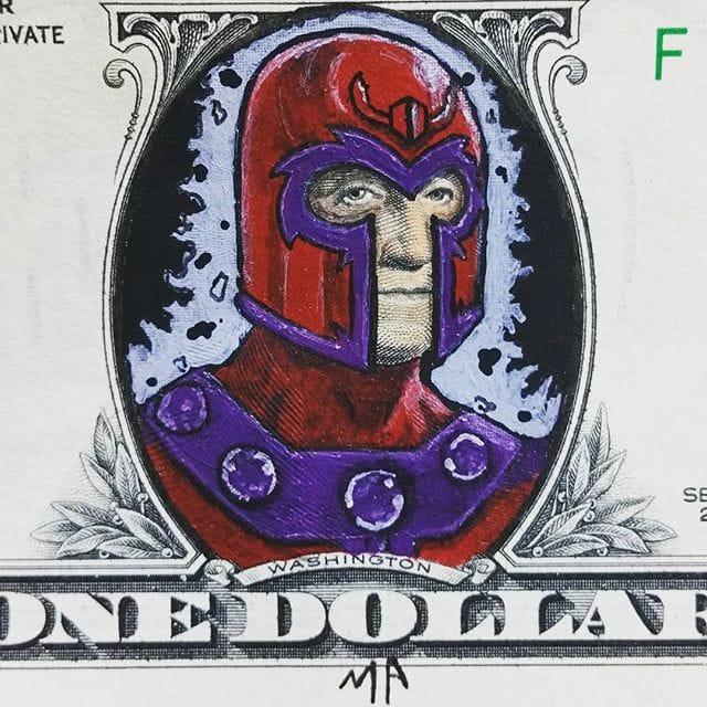 Awesome Magneto dollar!
