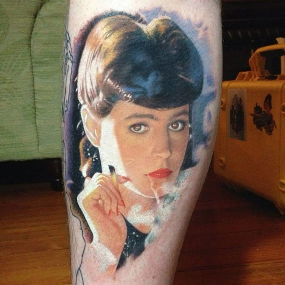 Quite an Experience to See Blade Runner Tattoos. Isn't it?