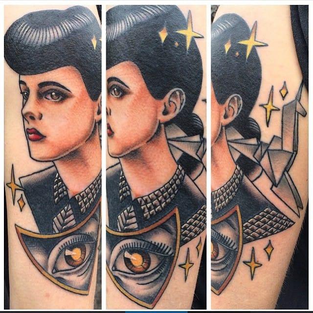 Tattoo by Brian Hemming