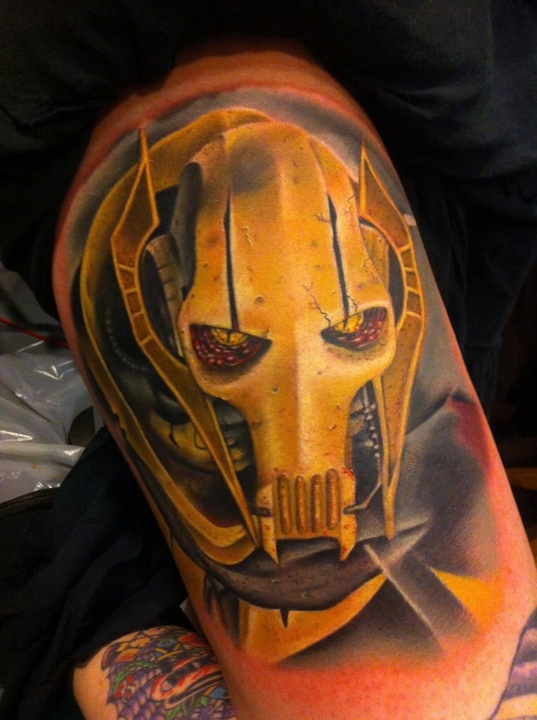 General Grievous tattoo