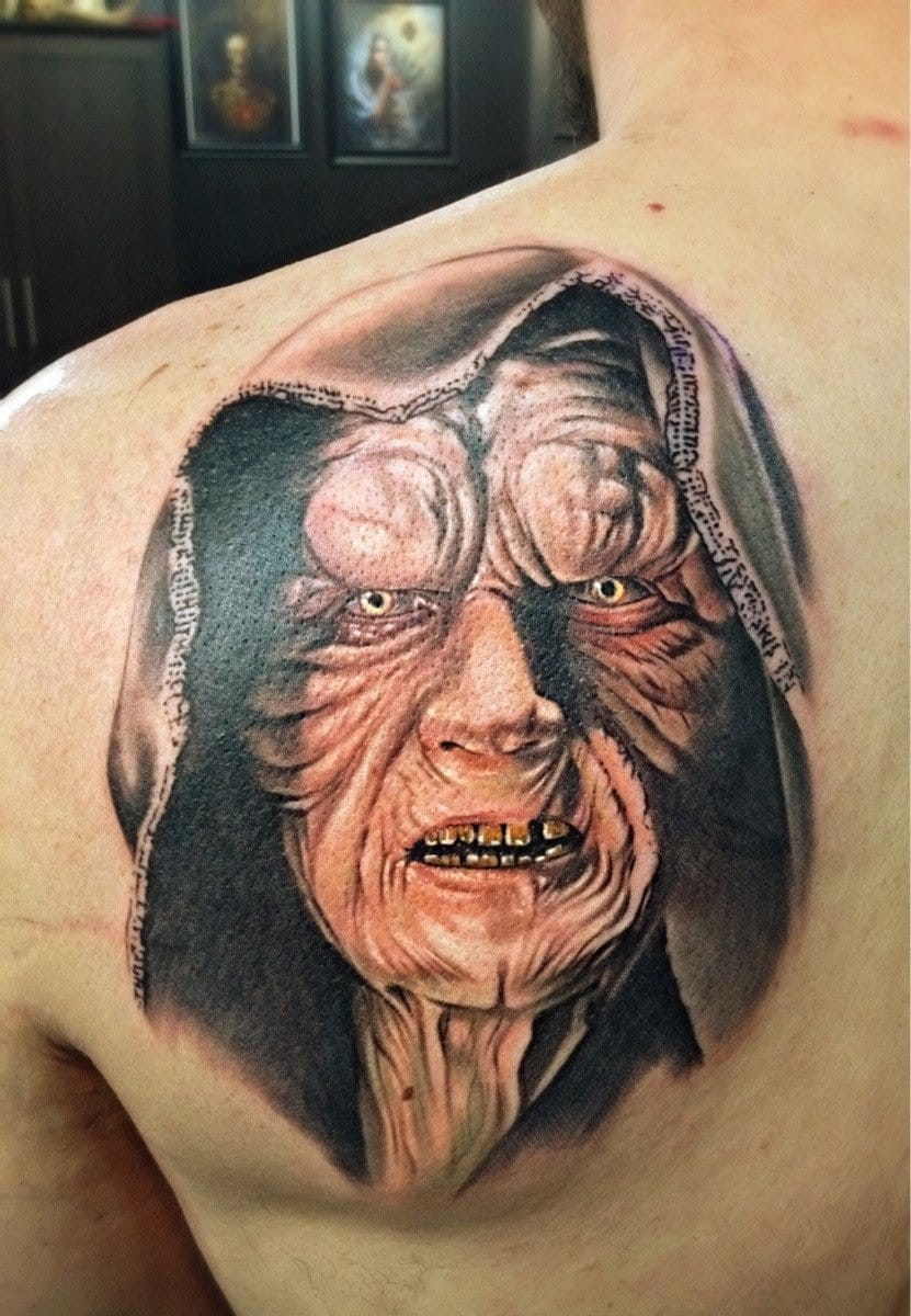 Emperor Palpatine tattoo