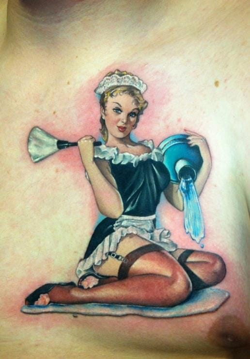 40 Enticing Pin-up Tattoos