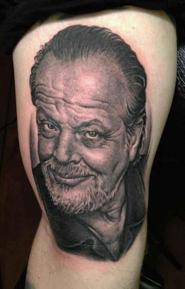 15 Intense Jack Nicholson Tattoos