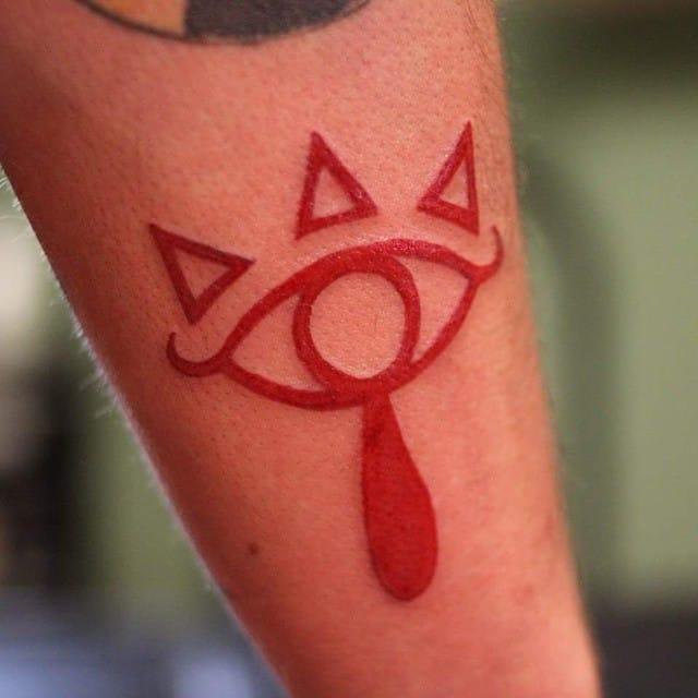 Legend of Zelda tattoo of Shawn Law