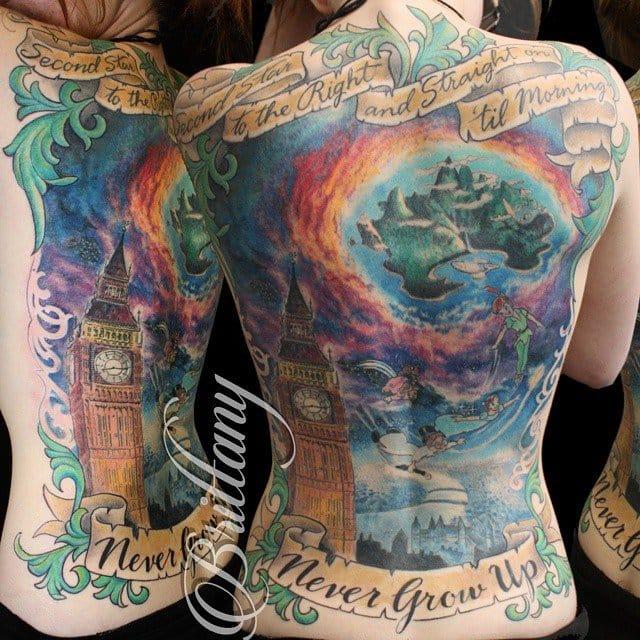 Peter Pan tattoo